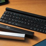 Prenosna zložljiva tipkovnica LG Rolly Keyboard