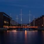 Most Cirkelbroen je prava poživitev za dansko prestolnico.