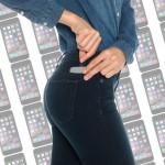 S kavbojkami Hellojeans lahko napolnite svojega iPhona.
