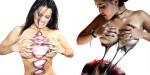 Šokantne poslikave telesa