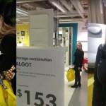 Fant pije kri dekletu v Ikei z briljantnimi enovrstičnicami iz imen izdelkov.