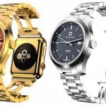 Pinnacle je ročna ura, ki ima kar dve uri- klasično mehansko in pametno uro Apple Watch.