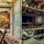 Zapuščene stavbe po Evropi.
