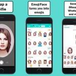 Aplikacija Emojiface vam omogoča, da se preobrazite v slikovnega smeška.
