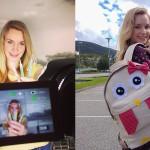 Sari Mozetič je z lepotnim video blogom Sara Beauty Corner padla sekirica v med