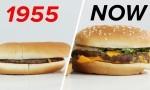 Velikost porcij v McDonald'su skozi čas