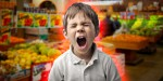 Triki, s katerimi zamotite otroka med nakupovanjem