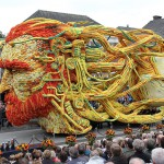 Parada cvetja na Nizozemskem v čast Van Goghu