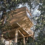 Lesena hiška mladega slovenskega arhitekta Roka Pezdirca