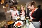 Utrinki s Kuharske akademije - CITY CHEF - italijanska kuhinja