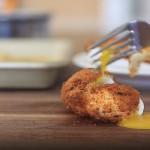 Recept za pohano jajce