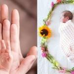 Domiselni načini  naznanitve prihoda novorojenčka