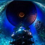 Zadnja atrakcija v Panometru ponuja ''potop'' na Veliki koralni greben.