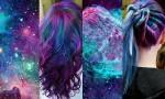 Barvanje las v barve vesolja