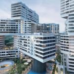 Večstanovanjska zgradba: The Interlace, Singapur