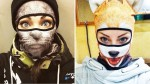 Živalske smučarske maske