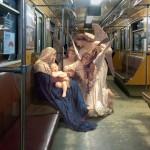 Liki iz slikarskih del v modernem okolju