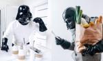 Dan v življenju Darth Vaderja, če bi bil navaden smrtnik.