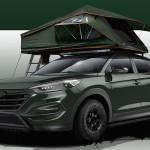 Konceptni športni terenec Hyundai Tucson Adventuremobile
