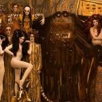 Inge Prader in poustvaritev slik Gustava Klimta