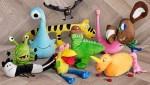 Plišaste igračke, ki so jih navdahnile otroške risbe