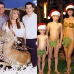 Najbolj obupne družinske božične voščilnice