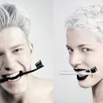 Črna zobna pasta