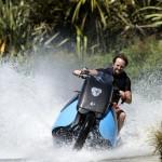 Biski amfibijski motocikel