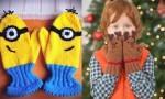 Domiselne zimske rokavice