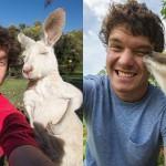 Allan Dixon - mojster selfijev z živalmi