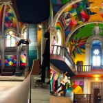 Kaos Temple - cerkev, ki je postala skejt park