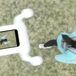 PhoneDrone Ethos: dron, ki pametni telefon spremeni v dron