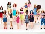 Barbie družina se je povečala za tri nove članice z realističnimi proporci