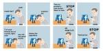 Satirične ilustracije na temo Facebooka