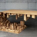 Klubska mizica po vzoru prizorov iz filma Inception