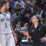 Becky Hammon na NBA All-Star tekmi