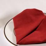 Servieta/prtiček v obliki srca