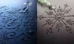 Umetnine iz vodnih kapljic