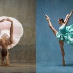 Prvakinja baleta Misty Copeland poustvarila slike Edgarja Degasa.