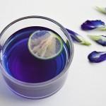Čaj, ki se obarva modro