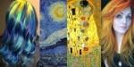 Lasje v odtenkih umetniških slik