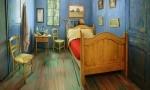 Van Goghova spalnica na Airbnb