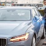 Volvo namesto ključev vpeljuje mobilno aplikacijo.