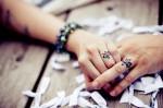Poročni pPoročni prstan kot taturstani ko tatuji