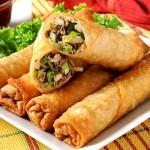 Recept - spomladanski zavitki po kitajsko