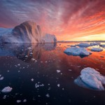 Ledene gore Grenlandije