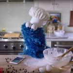 Cookie Monster in iPhone