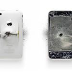 Uničeni Apple izdelki