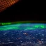 Severnij sij kot ga vidi Mednarodna vesoljska postaja.