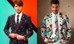 Moške geekovske obleke Oppo Suit